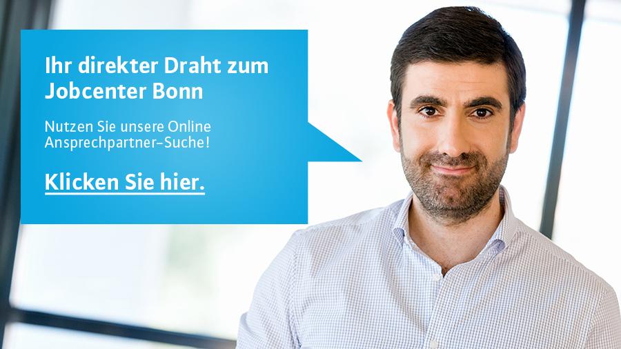 Direkter Draht zum Jobcenter Bonn