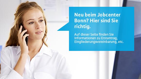 Neukunden Informationen Jobcenter Bonn